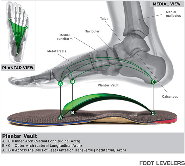 Footlevelers chiropractic service