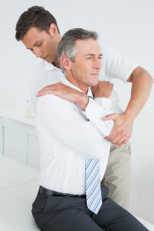 Chiropractic and health examination